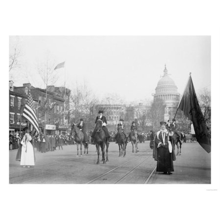 The Head of the Women's Suffrage Parade Photograph - Washington, DC Print Wall Art By Lantern Press](Halloween Dog Parade Washington Dc)