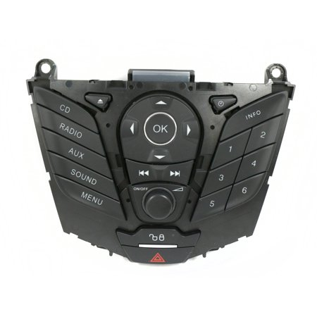 2012-13 Ford Focus OEM Receiver Control Panel Module Part Number CM5T-18K811-AC - Refurbished