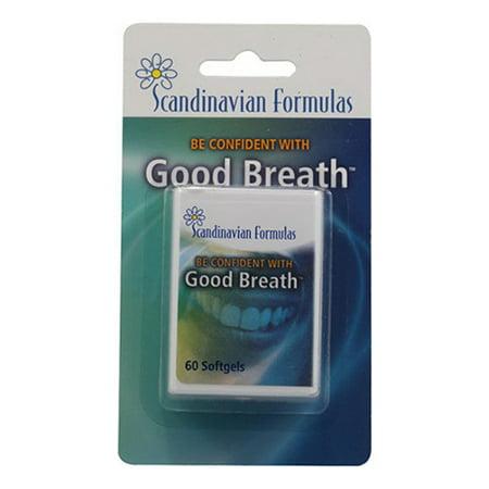 Scandinavian Formulas Good Breath Softgels  - 60 Ea, 2 Pack