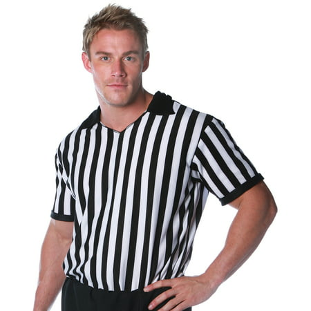 Girl Referee Costume (Referee Shirt Adult Halloween)