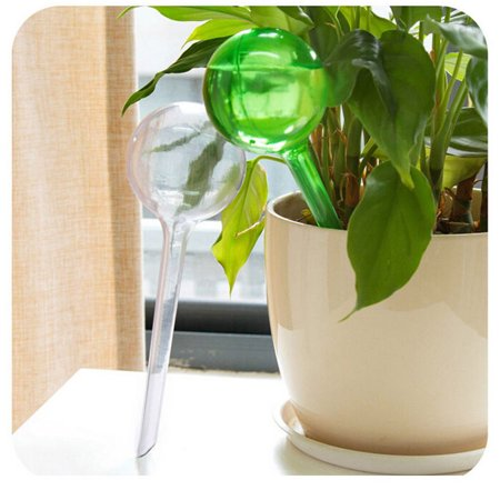 Indoor Globe - Watering Globes, Outgeek Green Plant Automatic Watering Bulbs Glass Aqua Globes for Indoor Outdoor Garden Home Office Plant