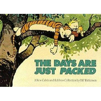 DAYS ARE JUST PACKED - Halloween Comic Strips Calvin And Hobbes