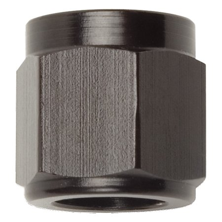 Tube Nut (Russell Performance -10 AN Tube Nuts 5/8in dia. (Black) (1 pc.))