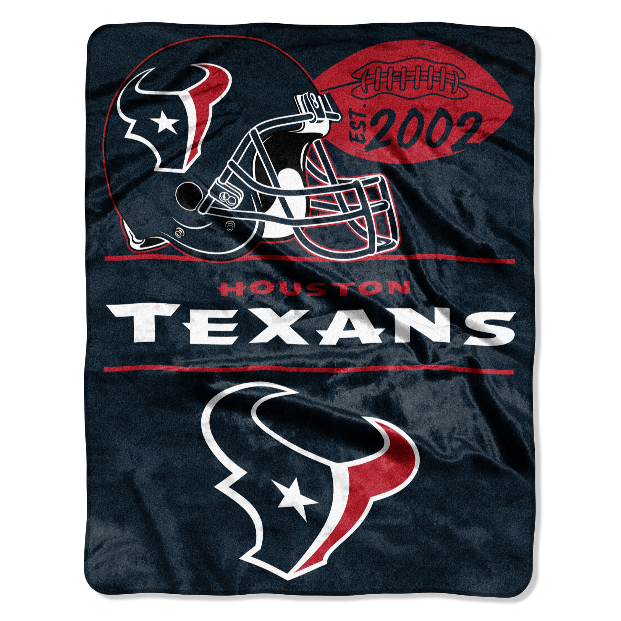 "NFL Houston Texans ""Conference"" 55"" x 70"" Silk Touch Throw, 1 Each"
