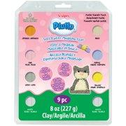 Sculpey Pluffy Clay 1oz 8/Pkg-Pastel
