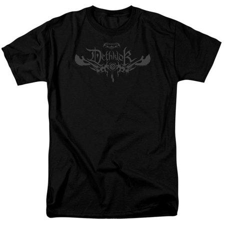 Trevco CN847-AT-2 Metalocalypse & Dethklok Logo by Adult 18-1 Short Sleeve T-Shirt, Black - Medium
