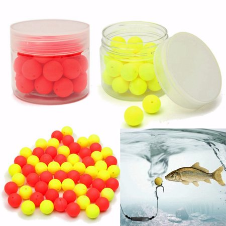 30Pcs Smell Soft Fishing Lure 12mm Soft Boilies Fishing Bait Boilies Floating Smell Ball Beads Feeder Artificial Carp Baits (Best Carp Bait To Use In Spring)
