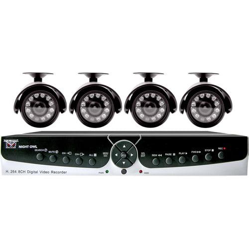 Night Owl POSEIDON-45 8-Channel H.264 DVR Kit with 500GB HD