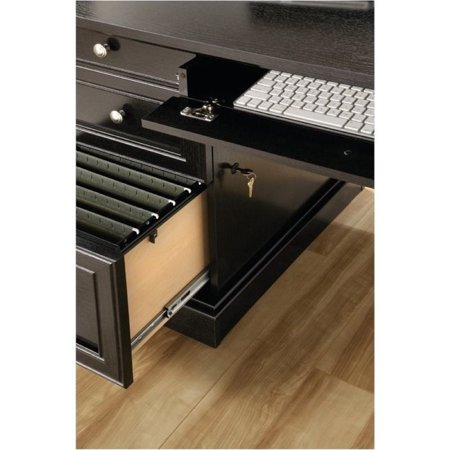 Bowery Hill L-Shaped Desk in Wind Oak - image 4 de 11
