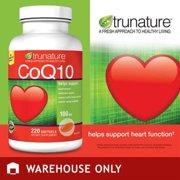 TruNature Coenzyme CoQ10 100 mg - 220 Softgels