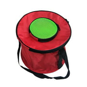 Ustyle Foldable Canvas Bucket Collapsible Fish Carrier Container Round Square Water Bag For Fishing