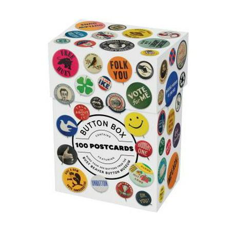 Button Box : 100 Postcards - Busy Beaver Halloween