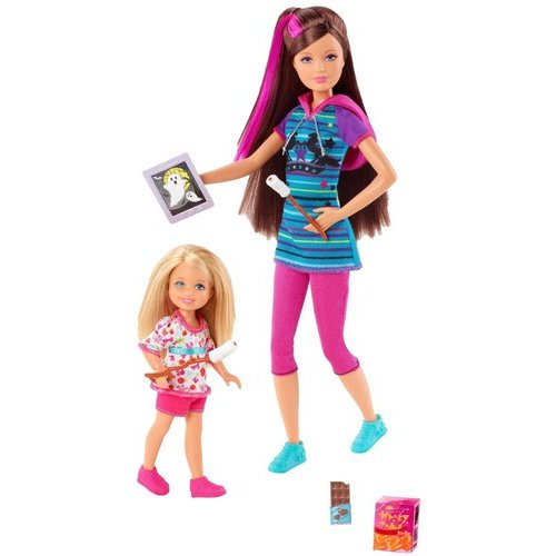 Barbie & Her Sisters in a Pony Tale 2-Pack Skipper & Chelsea Dolls