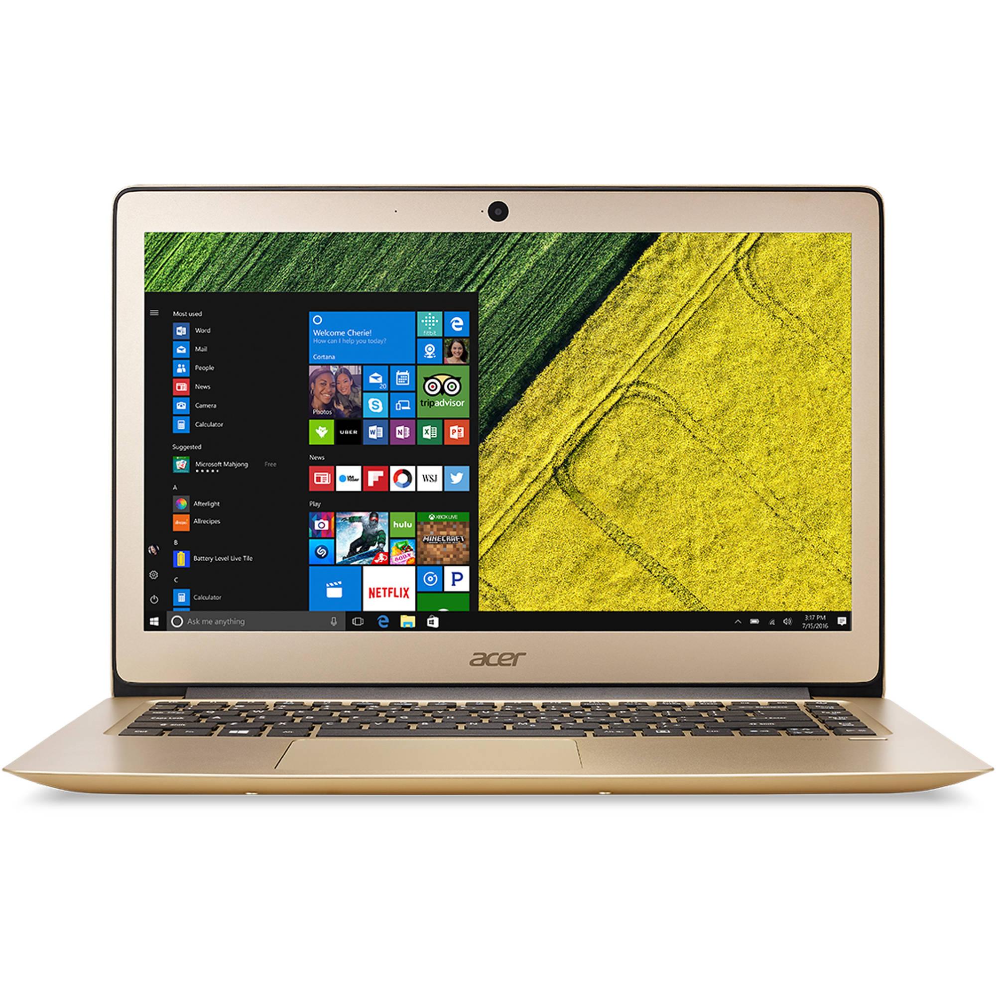 "Acer Swift 3 SF314-51-76R9 14.1"" Laptop, Windows 10 Home, Intel Core i7-6500U Processor, 8GB RAM, 256GB Solid State Drive"