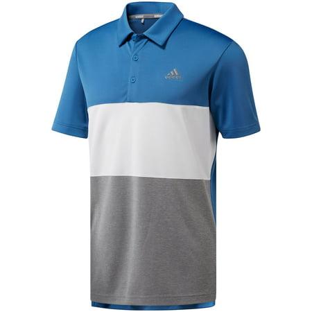bc484044 adidas - adidas men's advantage wide colorblock golf polo - Walmart.com