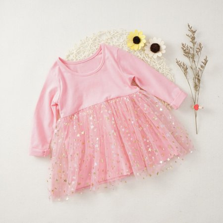 Baby Girls Dress Character Cat Infant Party Dress For Toddler Girl 4