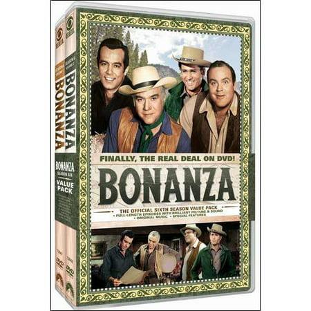 Bonanza  The Official Sixth Season  Vol  1 And 2  Full Frame