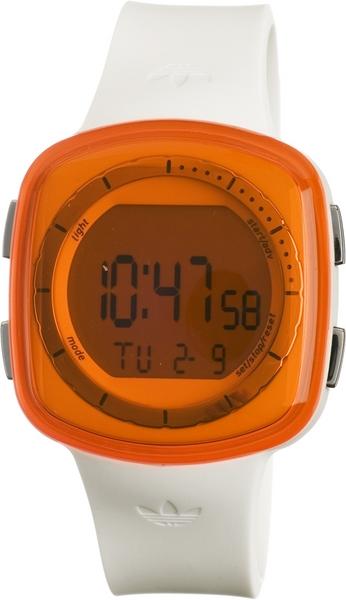 Adidas ADH6045 Tokyo White Polyurethane Bracelet With 41mm Digital Watch NIB by Adidas