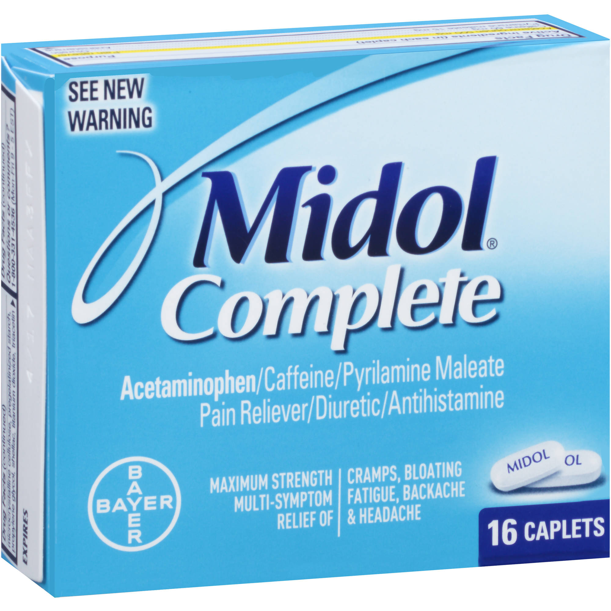 Midol Complete Multi-Symptom Relief, 16 count