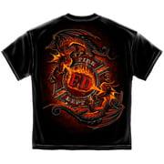 Cotton Ying Yang Fd Dragon T-Shirt