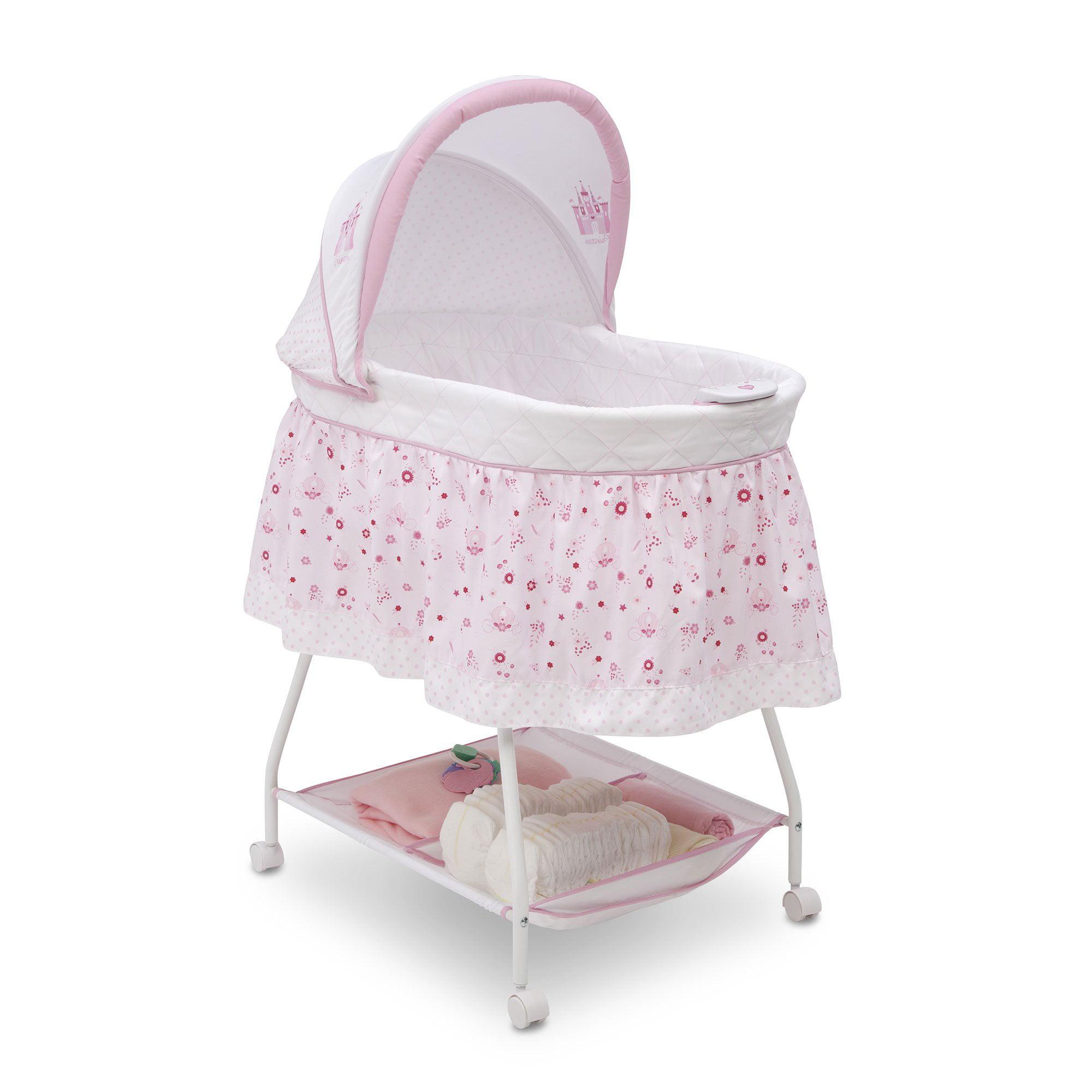 Disney Baby Ultimate Sweet Beginnings Bassinet, Disney Princess by Delta Children