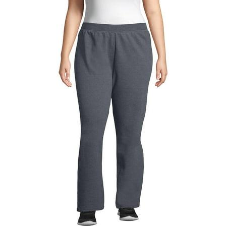 Just My Size Women's Plus Size Fleece Sweatpants Regular and Petite Sizes Womens Plus Performance Fleece