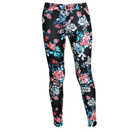 Linda Michael Womens Skinny Stretch Ponte Knit Pants