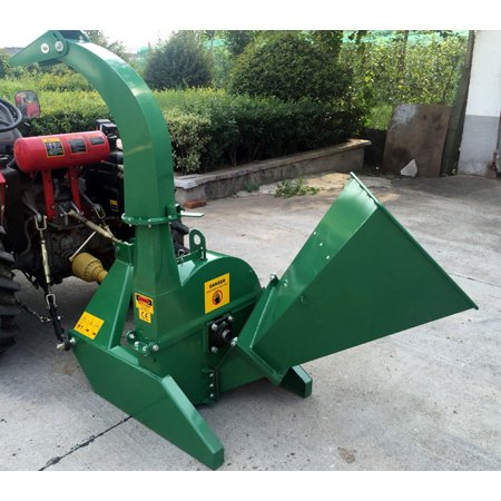 BX42S PTO Tractor Wood Chipper Shredder GREEN 540-1000 RPM