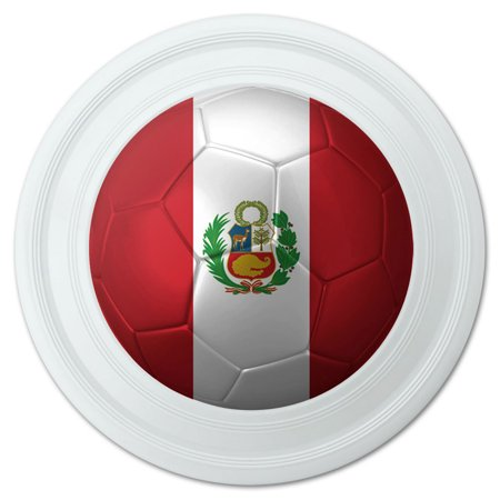 Peru with Seal Flag Soccer Ball Futbol Football Novelty 9