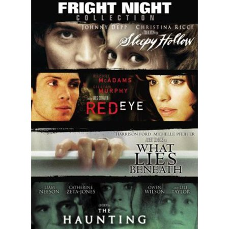 Fright Night Collection (Red Eye / Sleepy Hollow / The Haunting / What Lies Beneath) (Halloween Fright Nights Movie World 2017)