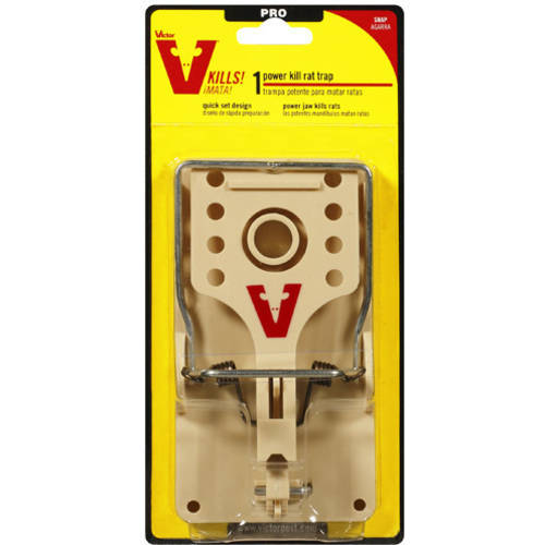 Woodstream M144 Victor Power Kill Rat Trap-POWERKILL RAT TRAP