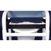 Anthros Medical N21PBBR-C00-CXXN CHAIR  21in.  STATIC ARMS  MESH COVER  HRS W/PAIL  VINYL CAPPED FEET