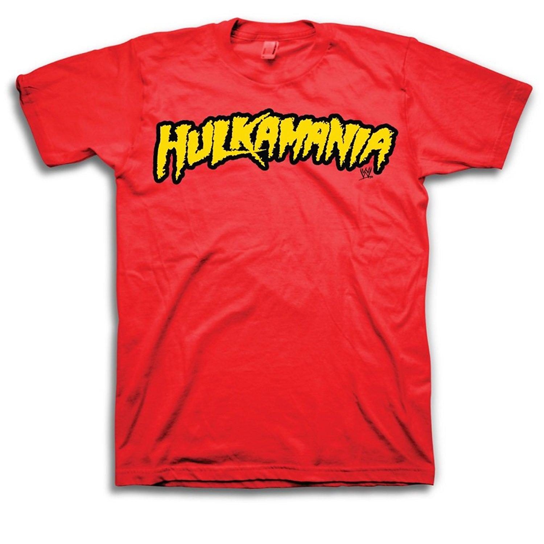 WWE Hulk Hogan Hulkamania Adult T-Shirt
