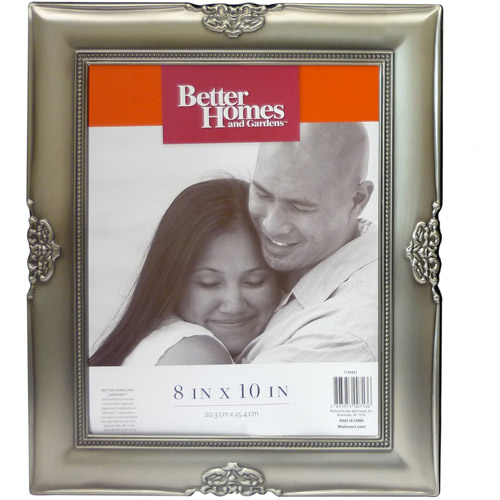 Better Homes and Gardens Ornate Picture Frame, Pewter