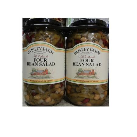 Paisley Farm 2- 35.5 Oz Natural Four Bean Salad, 71
