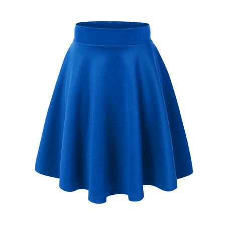 MBJ Womens Flirty Flare Skirt