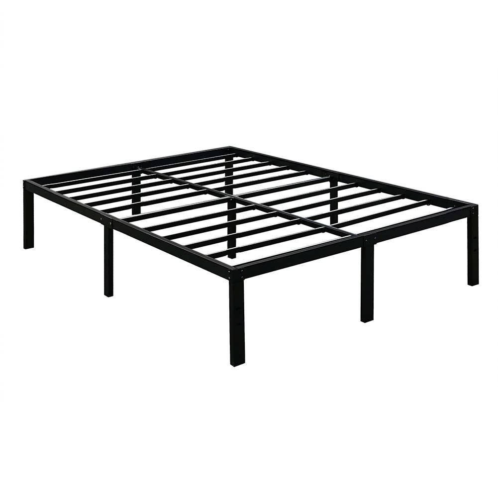 3000lbs Max Weight Capacity TATAGO 16 Inch Tall Heavy Duty Metal Platform Bed Frame Mattress Foundation, Extra-strong... by TATAGO