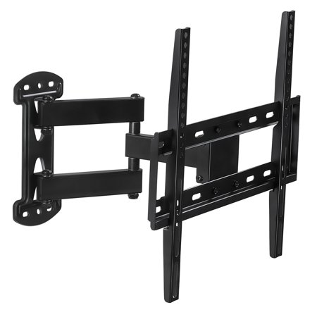Mount-It! Full Motion TV Wall Mount Corner Bracket, VESA 400 x 400 Compatible, Extending Arm Articulating (MI-4471)