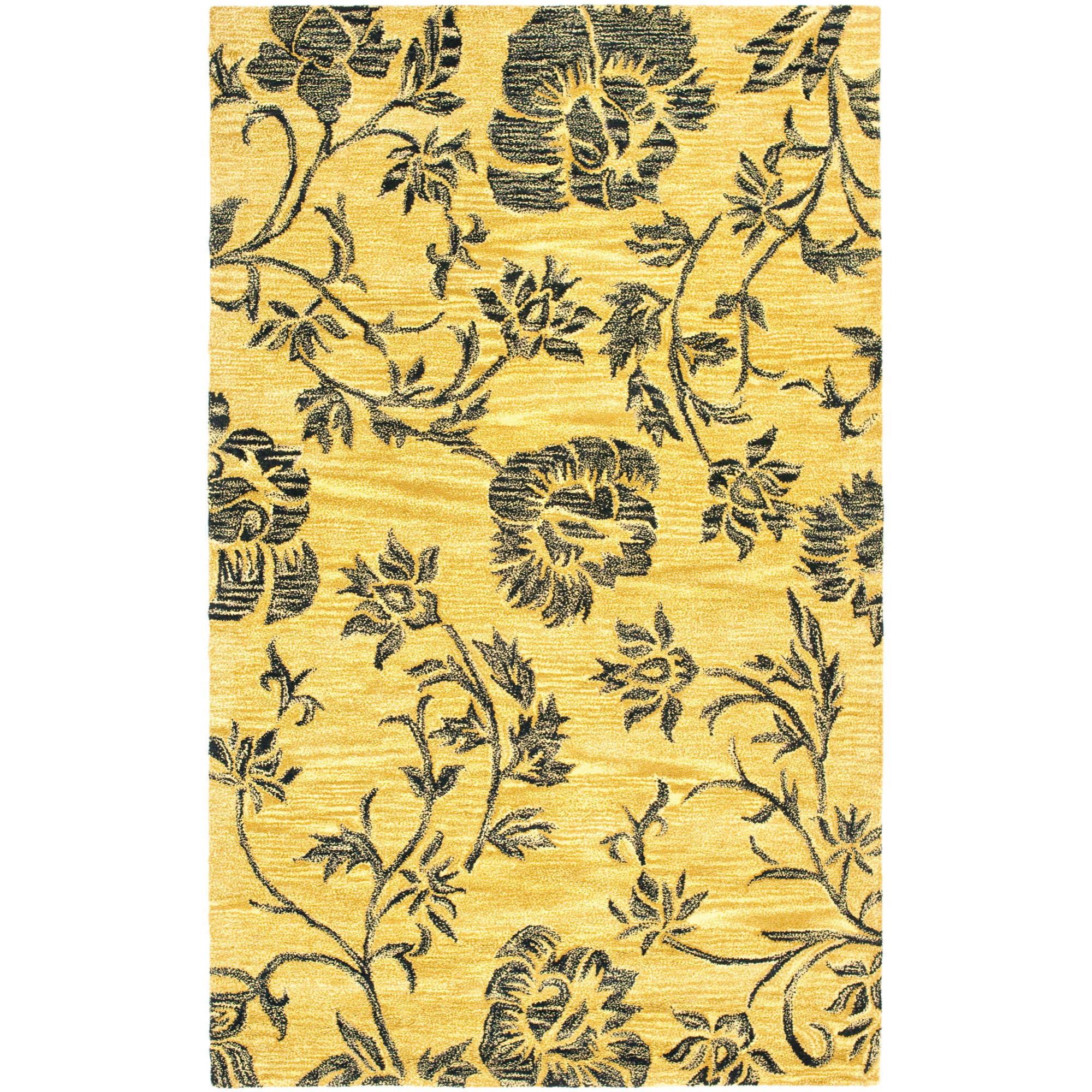 Safavieh Soho Crystal Floral Wool Area Rug or Runner