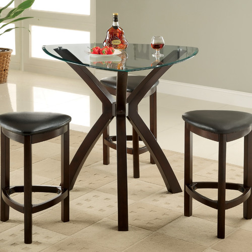 Hokku Designs 4 Piece Counter Height Dining Room Set by Enitial Lab