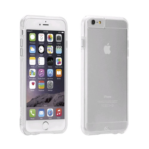 Case-Mate Naked Tough Case for Apple iPhone 6 Plus / iPhone 6S Plus (Clear) - CM031443