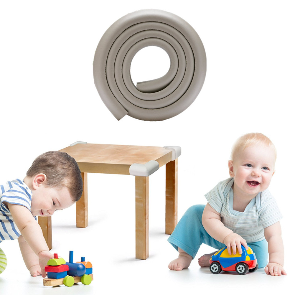 2 Meter/6.5 Feet Baby And Child Proof Table And Furniture Safety Protection,Wide And Thick Safe Edge and Corner Cushion Guard,Furniture Edge Bumper Guard