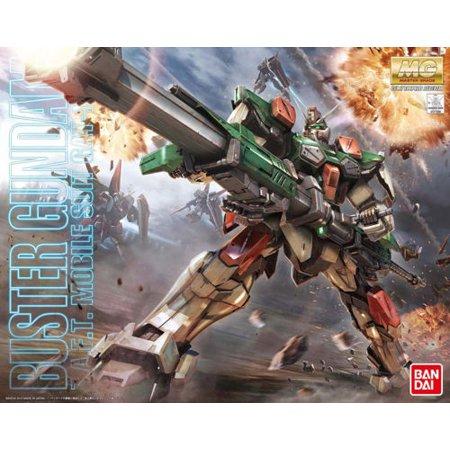 Bandai Hobby Gundam SEED Buster Gundam 1/100 MG Model Kit ()