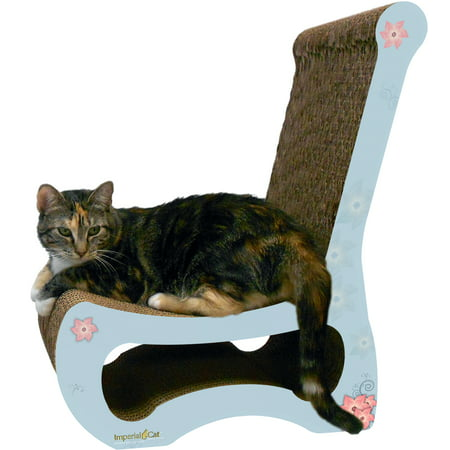 Imperial Cat Scratch 'n Shapes Easy Chair (2-in-1) - Country Cottage