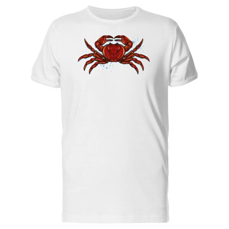 Red Crab Drawing Tee Men's -Image by Shutterstock](Red M&m)