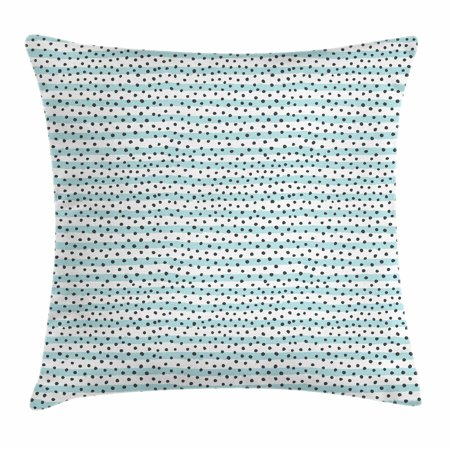 Fantastic Grey Blue Throw Pillow Cushion Cover Pastel Colored Stripes With Dots Hand Drawn Geometric Pattern Decorative Square Accent Pillow Case 24 X 24 Gmtry Best Dining Table And Chair Ideas Images Gmtryco
