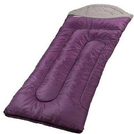 Coleman Purple Brighton Sleeping Bag