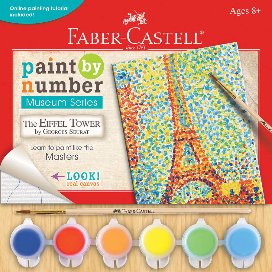 """Museum Series Paint By Number Kit, 6"""" x 8"""""""