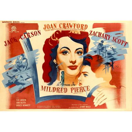 Mildred Pierce From Left Center Joan Crawford Ann Blyth 1945 Movie Poster Masterprint