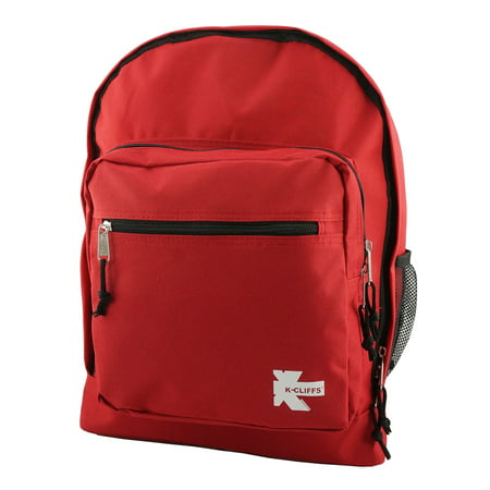 Wholesale Classic Large Backpack for College Students and Kids, Lightweight Durable Travel Backpack Fits 15.6 Laptops Water Resistant Daypack Unisex Adjustable Padded Straps Everyday Use (Red) 24pcs](Backpack Wholesale)